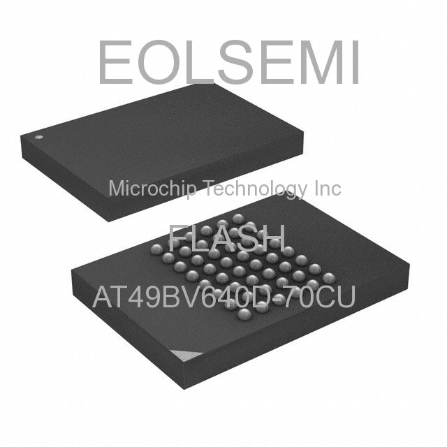 AT49BV640D-70CU - Microchip Technology Inc - FLASH