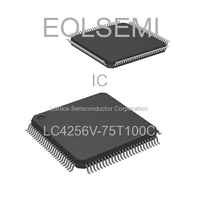 LC4256V-75T100C - Lattice Semiconductor Corporation