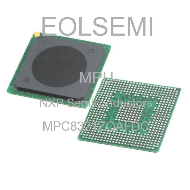 MPC8321ZQAFDC - NXP Semiconductors