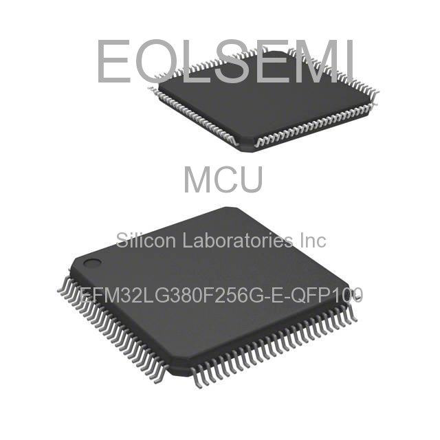 EFM32LG380F256G-E-QFP100 - Silicon Laboratories Inc