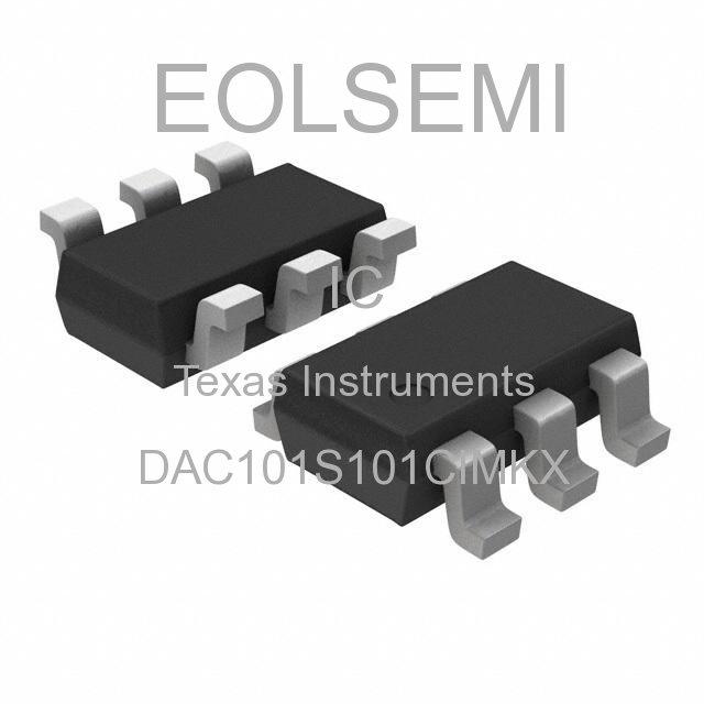DAC101S101CIMKX - Texas Instruments