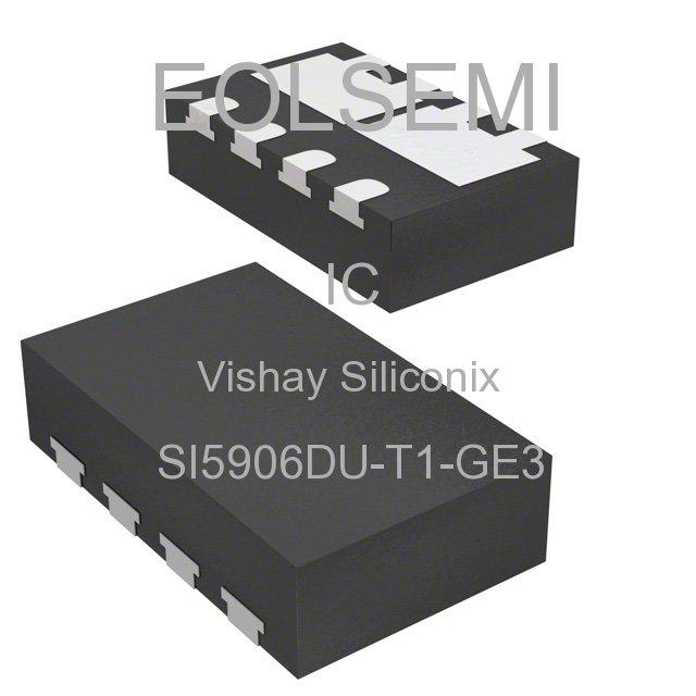 SI5906DU-T1-GE3 - Vishay Siliconix