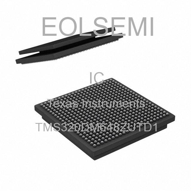 TMS320DM648ZUTD1 - Texas Instruments