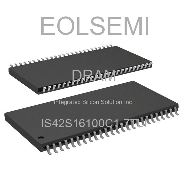 IS42S16100C1-7TLI - Integrated Silicon Solution Inc