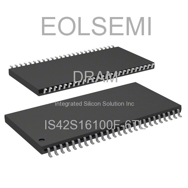 IS42S16100F-6TL - Integrated Silicon Solution Inc