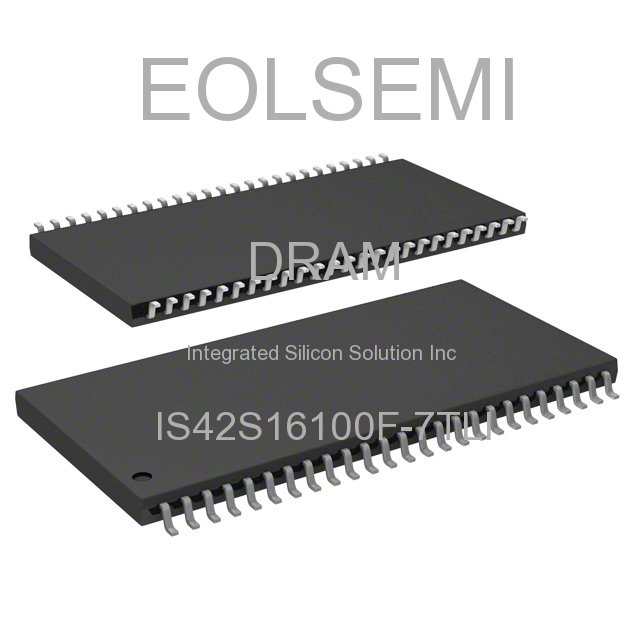 IS42S16100F-7TLI - Integrated Silicon Solution Inc