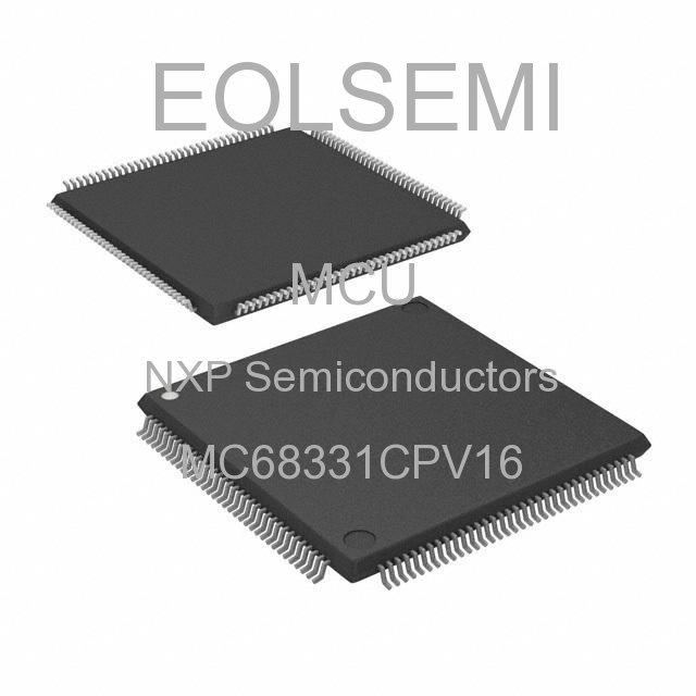 MC68331CPV16 - NXP Semiconductors