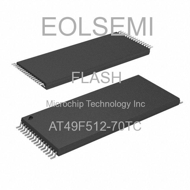 AT49F512-70TC - Microchip Technology Inc