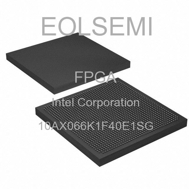 10AX066K1F40E1SG - Intel Corporation