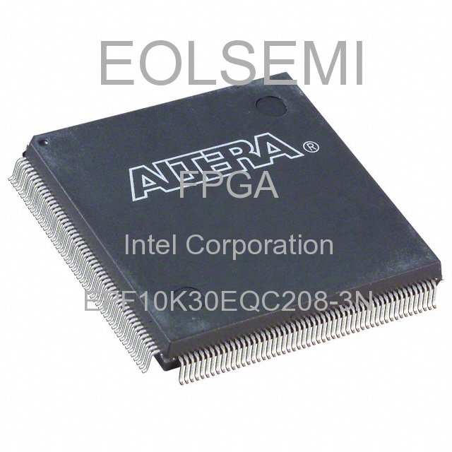 EPF10K30EQC208-3N - Intel Corporation
