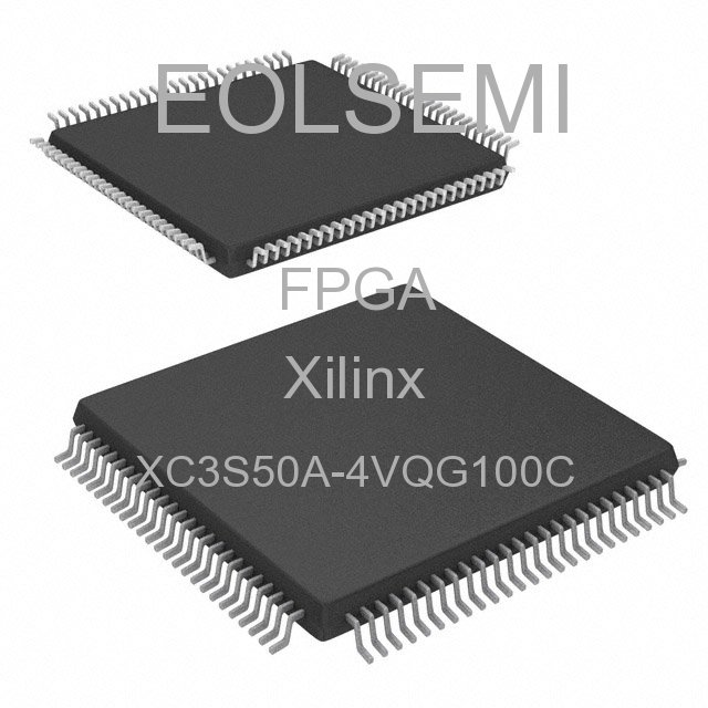 XC3S50A-4VQG100C - Xilinx