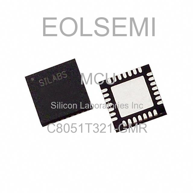 C8051T321-GMR - Silicon Laboratories Inc