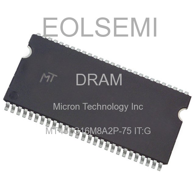 MT48LC16M8A2P-75 IT:G - Micron Technology Inc