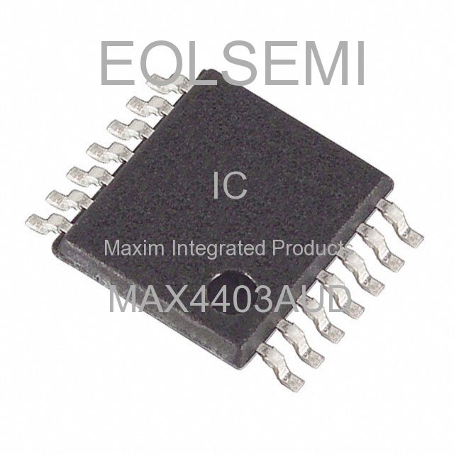 MAX4403AUD - Maxim Integrated Products