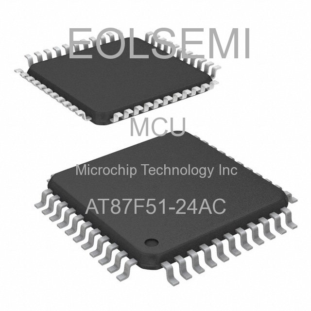 AT87F51-24AC - Microchip Technology Inc