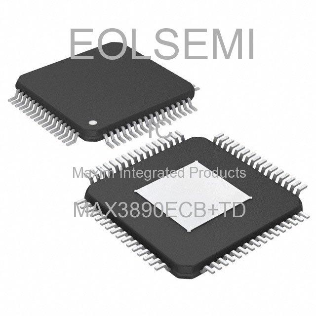 MAX3890ECB+TD - Maxim Integrated Products