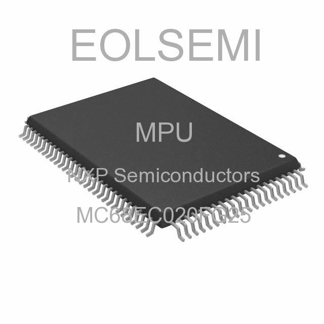 MC68EC020FG25 - NXP Semiconductors