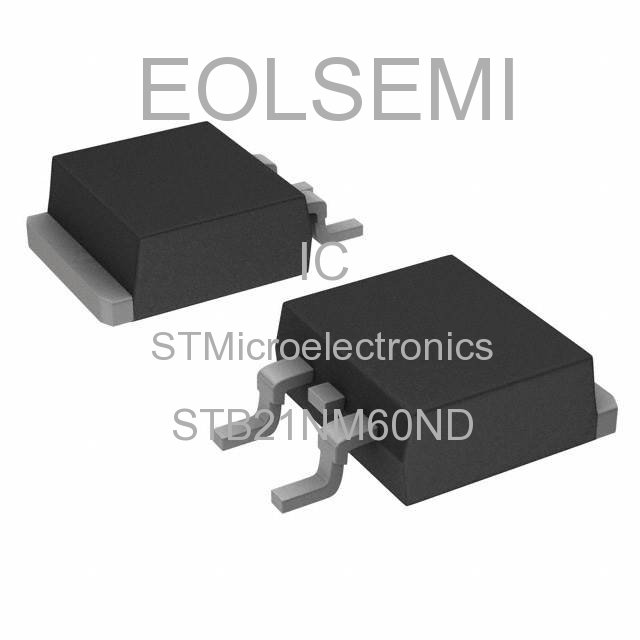 STB21NM60ND - STMicroelectronics