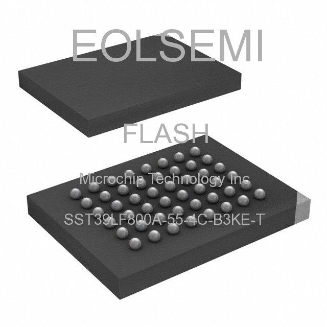SST39LF800A-55-4C-B3KE-T - Microchip Technology Inc