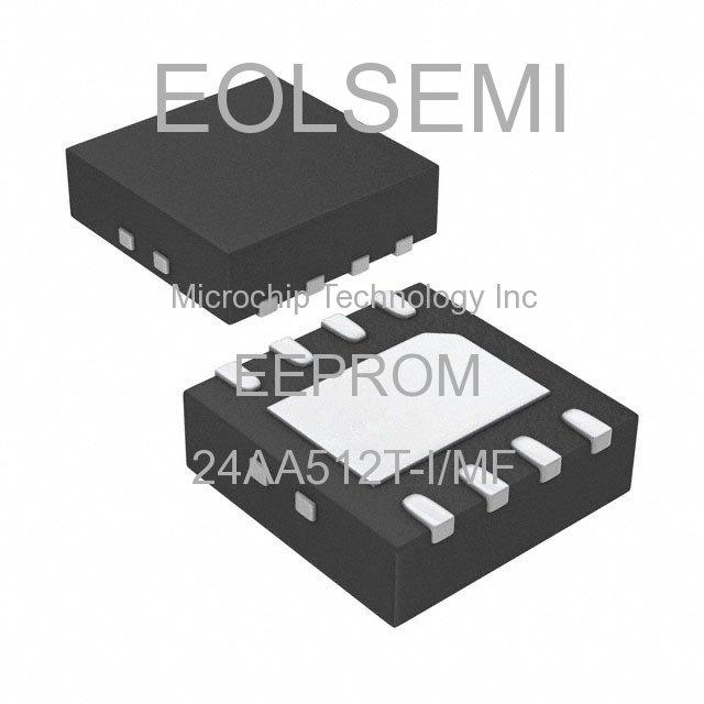 24AA512T-I/MF - Microchip Technology Inc - EEPROM