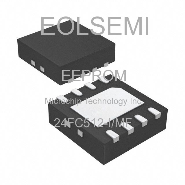 24FC512-I/MF - Microchip Technology Inc