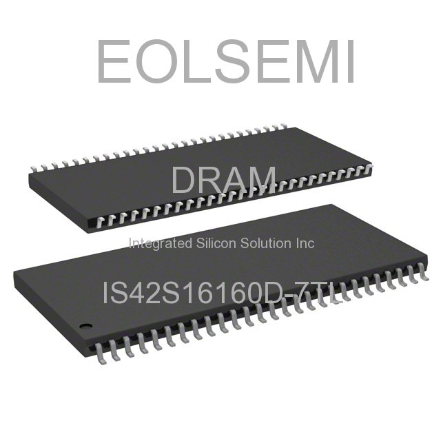IS42S16160D-7TL - Integrated Silicon Solution Inc