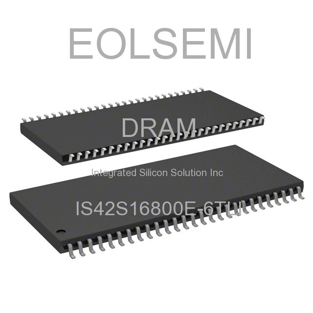 IS42S16800E-6TLI - Integrated Silicon Solution Inc
