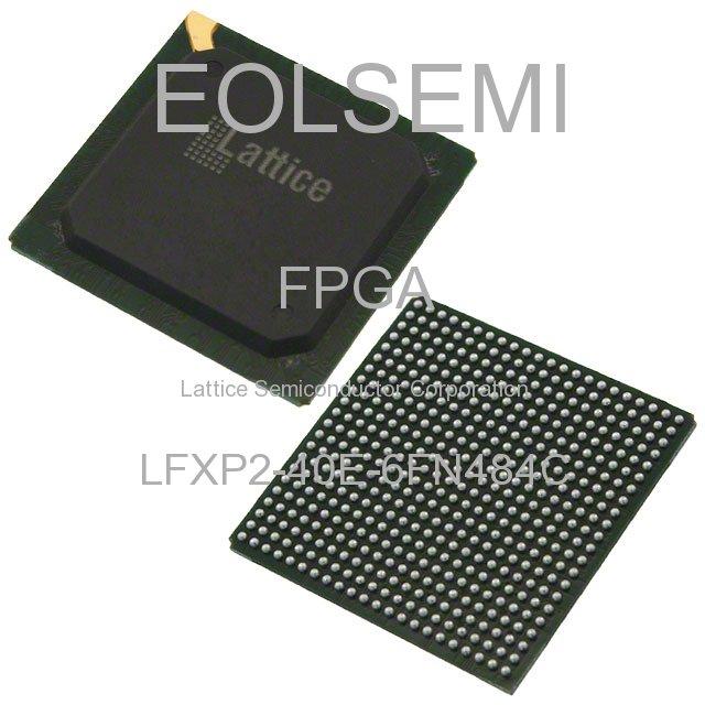 LFXP2-40E-6FN484C - Lattice Semiconductor Corporation