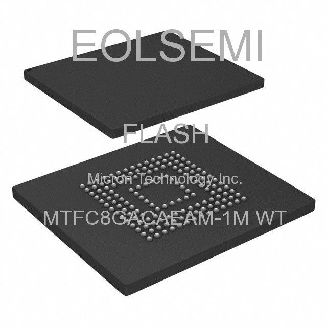 MTFC8GACAEAM-1M WT - Micron Technology Inc.
