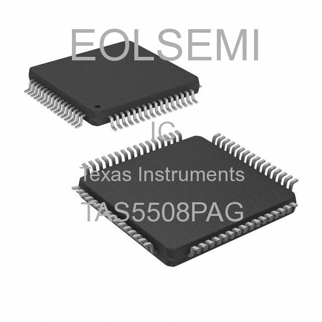 TAS5508PAG - Texas Instruments