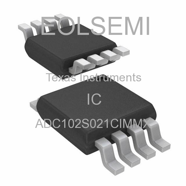 ADC102S021CIMMX - Texas Instruments - IC