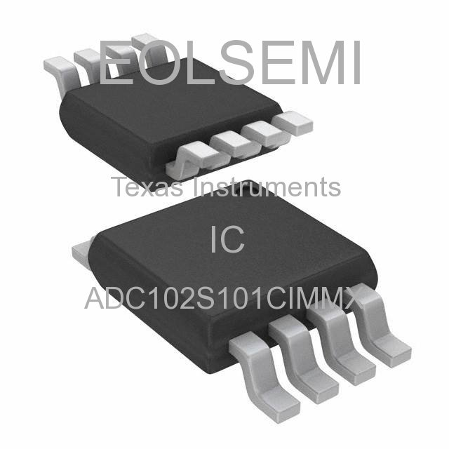 ADC102S101CIMMX - Texas Instruments - IC