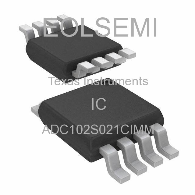 ADC102S021CIMM - Texas Instruments - IC