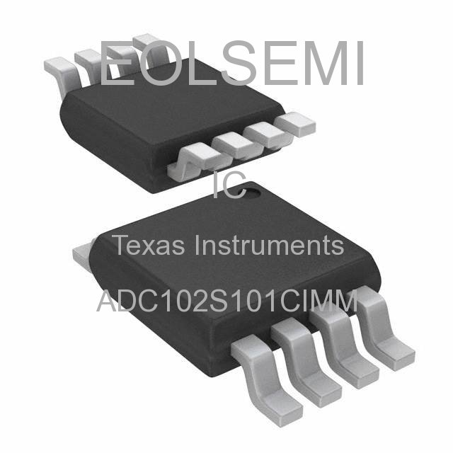 ADC102S101CIMM - Texas Instruments - IC
