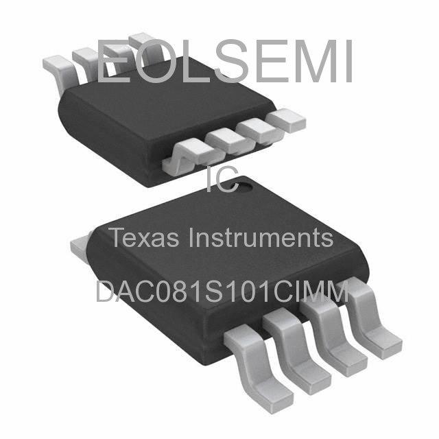 DAC081S101CIMM - Texas Instruments