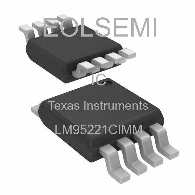 LM95221CIMM - Texas Instruments