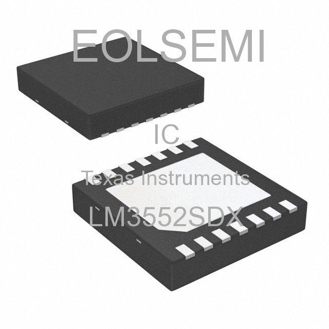 LM3552SDX - Texas Instruments