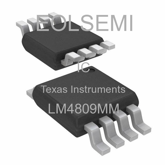 LM4809MM - Texas Instruments