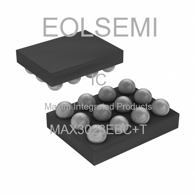 MAX3023EBC+T - Maxim Integrated Products