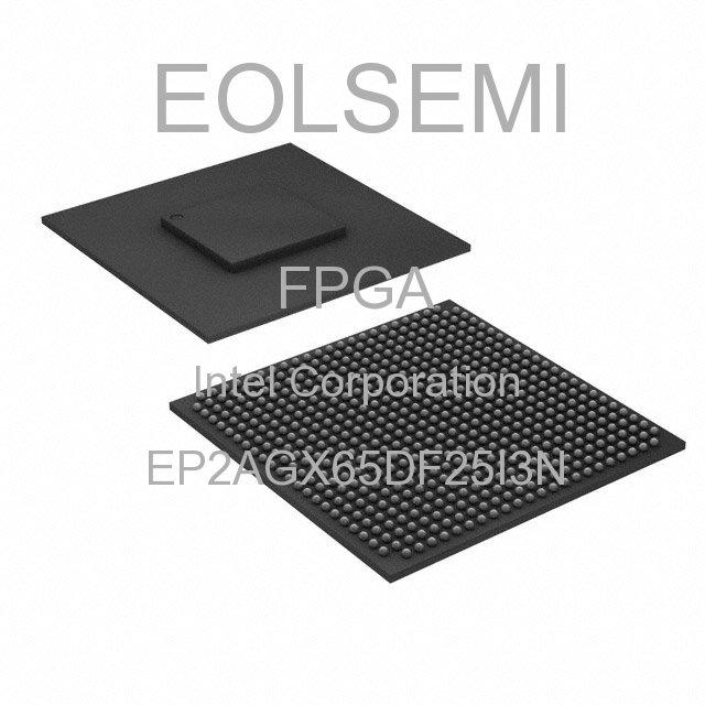 EP2AGX65DF25I3N - Intel Corporation