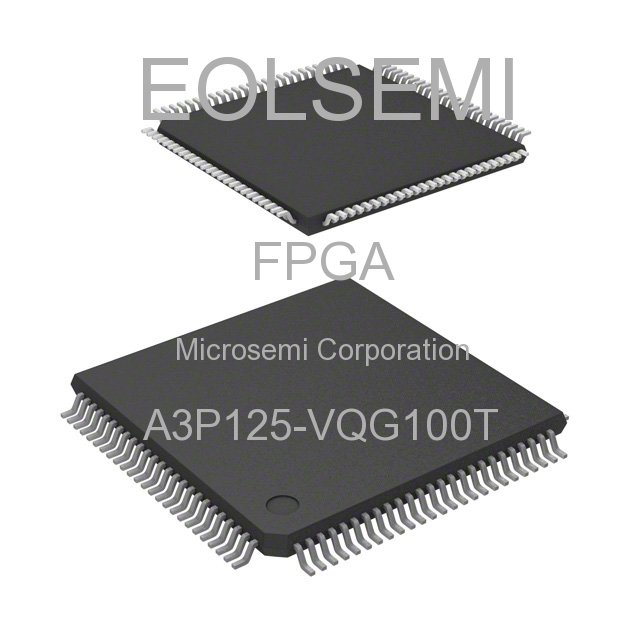 A3P125-VQG100T - Microsemi Corporation