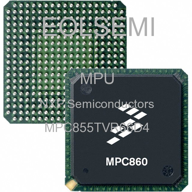 MPC855TVR66D4 - NXP Semiconductors