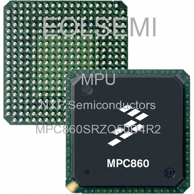 MPC860SRZQ50D4R2 - NXP Semiconductors