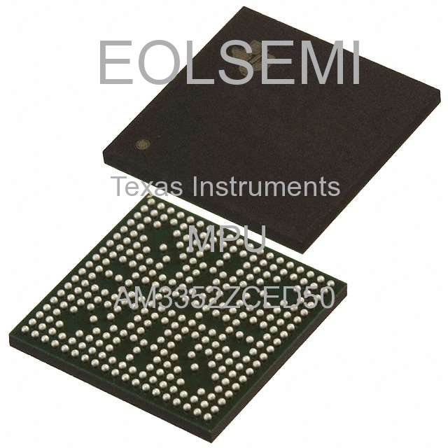 AM3352ZCED50 - Texas Instruments - MPU