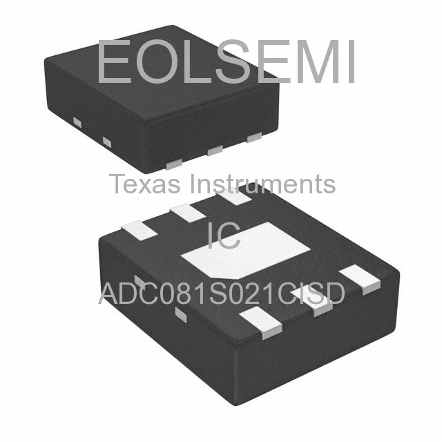 ADC081S021CISD - Texas Instruments - IC