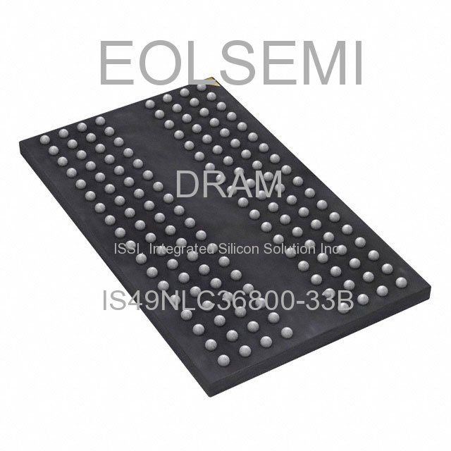 IS49NLC36800-33B - ISSI, Integrated Silicon Solution Inc