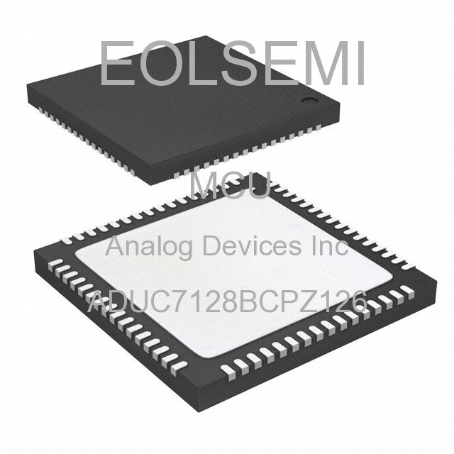 ADUC7128BCPZ126 - Analog Devices Inc