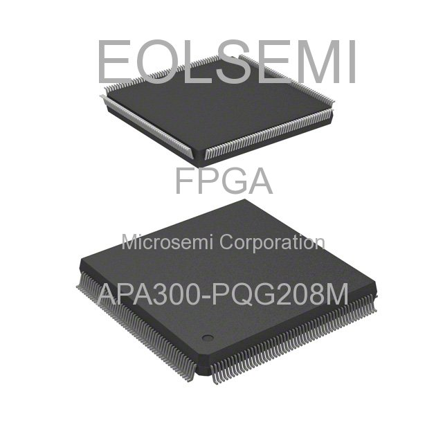 APA300-PQG208M - Microsemi Corporation