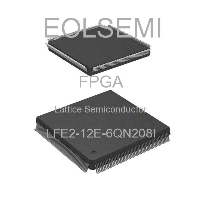 LFE2-12E-6QN208I - Lattice Semiconductor