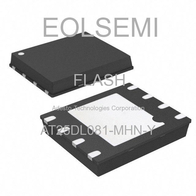 AT25DL081-MHN-Y - Adesto Technologies Corporation